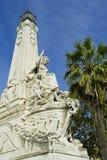 Il monumento di Oriente di Marsiglia fotografia stock libera da diritti