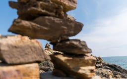 Il monumento di pietra Fotografie Stock