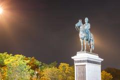 Il monumento di re Rama V Equestrian Bangkok Tailandia fotografia stock