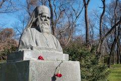 Il monumento di Simeon metropolitano a Varna, Bulgaria Fotografie Stock