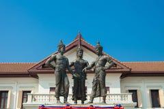Il monumento di tre re Fotografie Stock Libere da Diritti