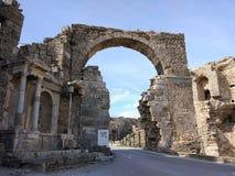 Il monumento di Vespasianus Immagini Stock