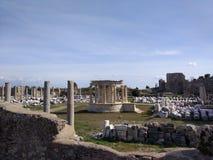 Il monumento di Vespasianus Immagine Stock Libera da Diritti