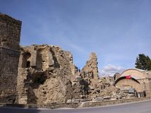 Il monumento di Vespasianus Fotografia Stock