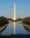 Il monumento di Washington nella CC Fotografia Stock Libera da Diritti