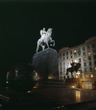 Il monumento di Yuri Dolgoruky Immagine Stock Libera da Diritti