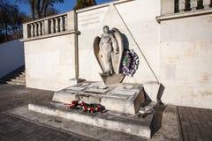Il monumento ha dedicato ai volontari americani che hanno combattuto sul Poli fotografie stock libere da diritti