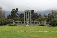 Il monumento Huguenot fotografie stock