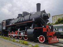 Il monumento industriale locomotivo Fotografia Stock