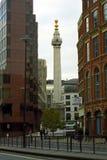 Il monumento, Londra, Inghilterra Fotografia Stock