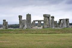 Il monumento megalitico di Stonehenge immagini stock