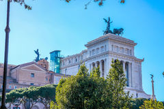 Il Monumento Nazionale un monumento nazionale del ` di Vittorio Emanuele II a Victo Fotografie Stock