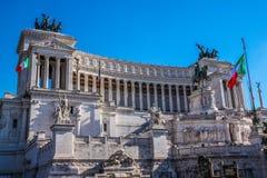 Il Monumento Nazionale un monumento nazionale del ` di Vittorio Emanuele II a Victo Fotografia Stock