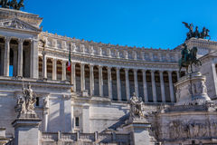 Il Monumento Nazionale un monumento nazionale del ` di Vittorio Emanuele II a Victo Immagini Stock