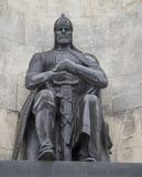 Il monumento nel quadrato della chiesa, vladimir, Federazione Russa Immagine Stock