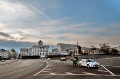 Il monumento a principe Vladimir il ` s di Pashkov e di grande alloggia a Mosca Immagine Stock Libera da Diritti