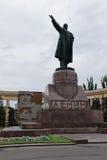 Il monumento a Vladimir Lenin ha stabilito sul quadrato di Lenin in Th Fotografia Stock Libera da Diritti
