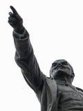 Il monumento a Vladimir Lenin (Ulyanov) nella città di Kaluga in Russia Immagini Stock