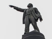 Il monumento a Vladimir Lenin (Ulyanov) nella città di Kaluga in Russia Fotografia Stock Libera da Diritti