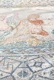 il mosaico del tetto nella città Marocco Africa e la storia viaggiano Immagini Stock