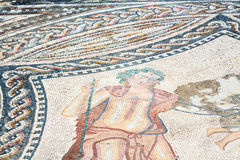 il mosaico del tetto nella vecchia città Marocco Africa e la storia viaggiano Immagini Stock