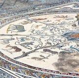 il mosaico del tetto nella vecchia città Marocco Africa e la storia viaggiano Immagine Stock