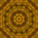 Il mosaico digitale di progettazione dell'astrazione di effetto di geometria della carta di energia della mandala orna variopinto illustrazione vettoriale