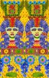 Il mosaico egiziano Fotografie Stock Libere da Diritti