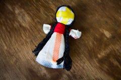 Il motanka nazionale ucraino della bambola fotografie stock libere da diritti