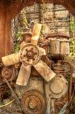 Il motore abbandonato Immagini Stock
