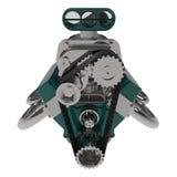 Il motore 3D di V8 della barretta calda rende Fotografie Stock Libere da Diritti