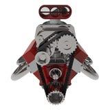 Il motore 3D di V8 della barretta calda rende Fotografia Stock Libera da Diritti