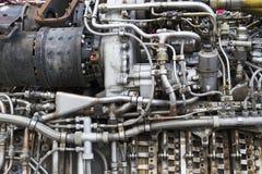 Il motore dell'aeroplano Fotografia Stock Libera da Diritti