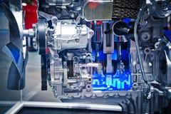 Il motore di automobile Fotografie Stock Libere da Diritti