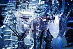 Il motore di automobile Immagini Stock