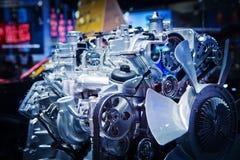 Il motore di automobile Immagine Stock