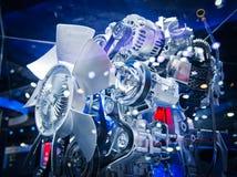 Il motore di automobile Immagine Stock Libera da Diritti
