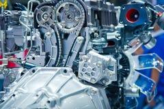 Il motore di automobile Fotografia Stock Libera da Diritti