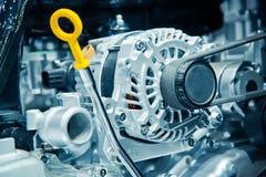 Il motore di automobile Immagini Stock Libere da Diritti