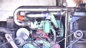 Il motore sta avviando stock footage