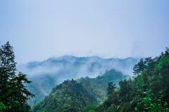 Il mountaindi mattina Immagini Stock Libere da Diritti