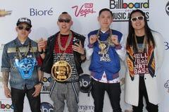 Il movimento dell'Estremo Oriente alla musica 2012 del tabellone per le affissioni assegna gli arrivi, Mgm Grand, Las Vegas, il na Fotografia Stock Libera da Diritti