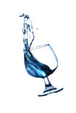 Il movimento di acqua Immagini Stock Libere da Diritti