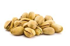 Il mucchio dei pistacchi ha isolato Fotografia Stock Libera da Diritti