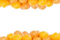 Il mucchio delle arance Fotografie Stock Libere da Diritti