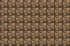 Il mucchio di fieno naturale delle cellule di eco del modello ha quadrato senza fine Immagini Stock