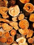 Il mucchio di legno Fotografia Stock