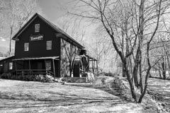 Il mulino di Tingler, la Banca della pittura, la Virginia Immagine Stock