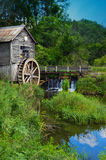 Il mulino Ridgeway Wisconsin di Hyde fotografie stock libere da diritti