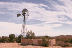 Il mulino a vento Immagine Stock